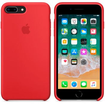Чехол для iPhone Apple iPhone 8 Plus / 7 Plus Silicone RED